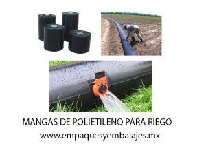 mangas de polietileno agrícola