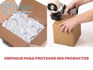 empaque para proteger mis productos