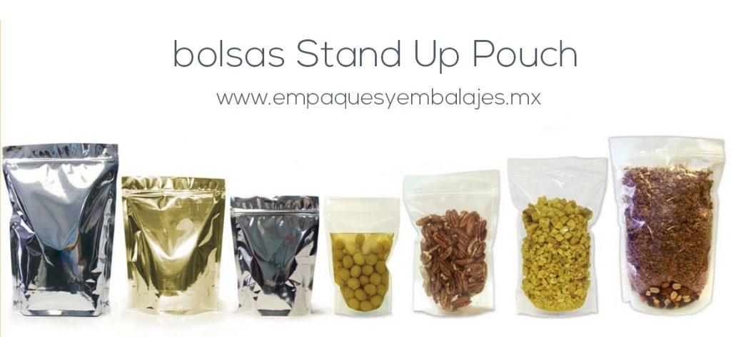 Bolsas stand up pouch en guadalajara